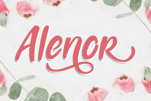 Alenor Font
