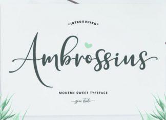 Ambrossius Font