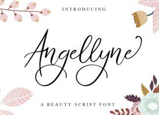 Angellyne Font