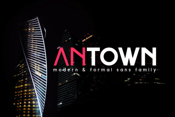 Antown Font