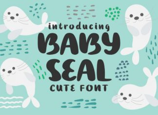 Baby Seal Font