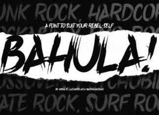 Bahula Font