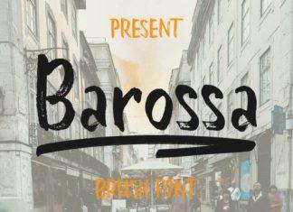 Barossa Font
