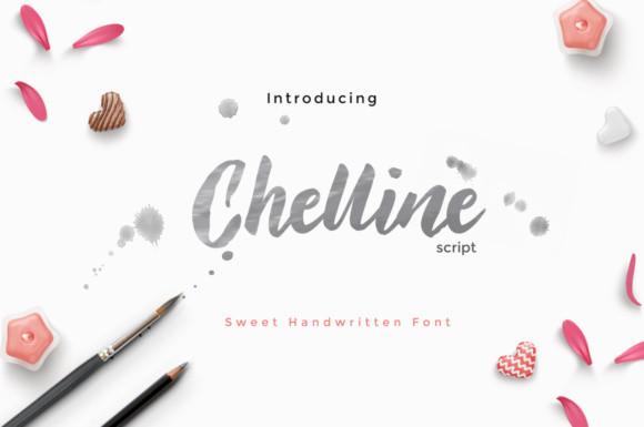 Chelline Font