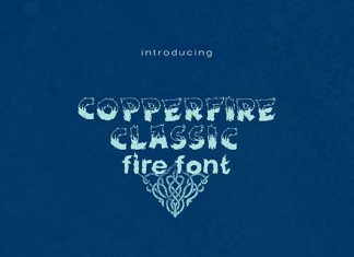 Copperfire Font