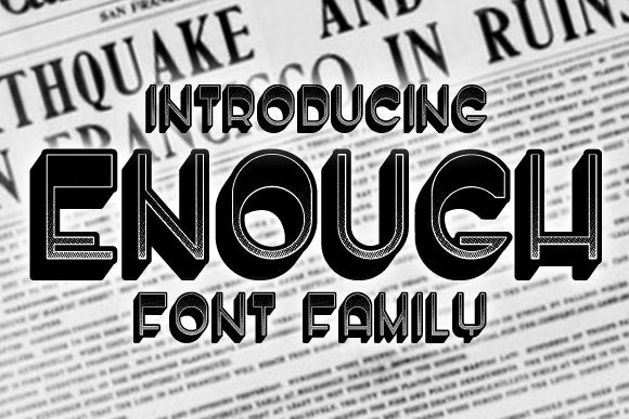 Enough Font