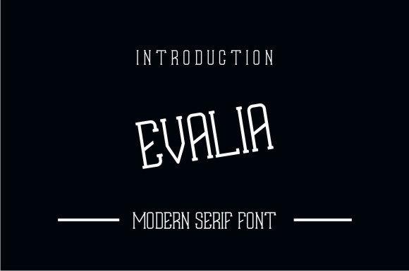 Evalia Font