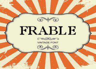 Frable Font