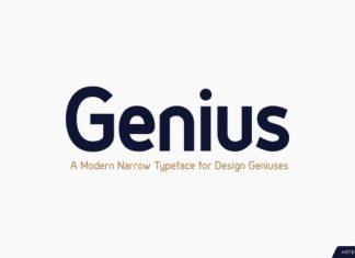 Genius Font