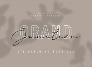 Grand Junction Duo Font