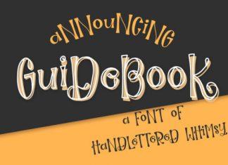 Guidebook Font
