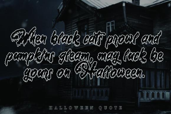 Halloween Story Font