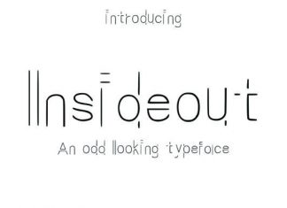 Inside out Font