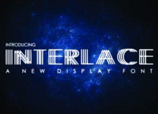 Interlace Font