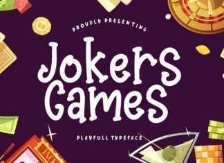 Jokers Games Font