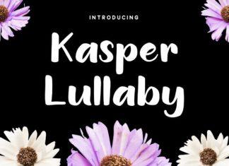 Kasper Lullaby Font