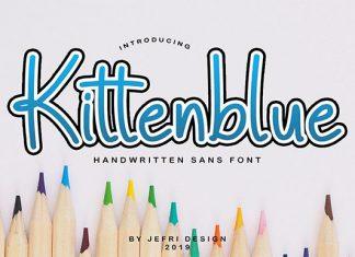 Kittenblue Font