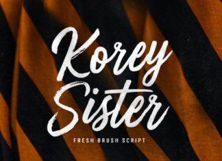 Korey Sister Font
