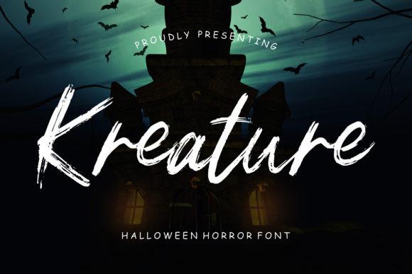 Kreature Font