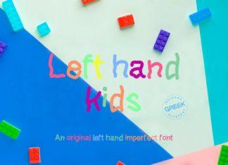 Lefthand Kids Font