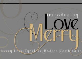 Merry Love Font
