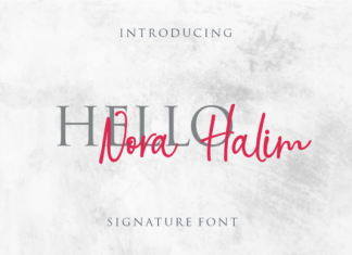 Nora Halim Font