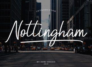 Nottingham Script Font