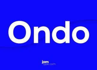 Ondo Font