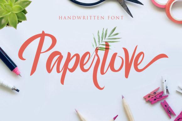 Paperlove Font
