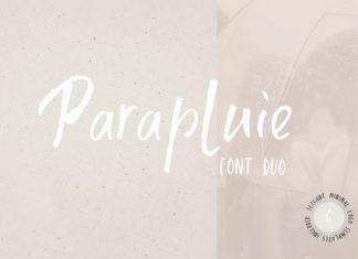 Parapluie Duo Font