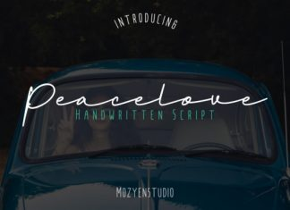 Peacelove Font