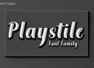 Playstile Font