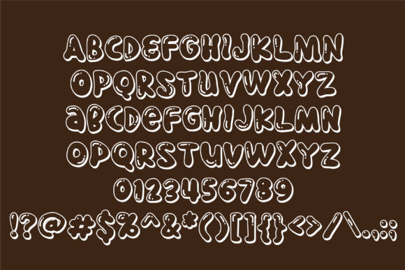 Pudding Pie Duo Font