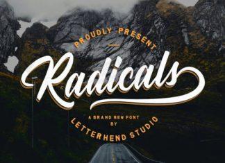 Radicals Font