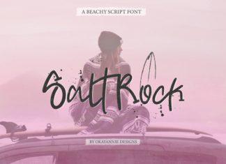 SaltRock Font