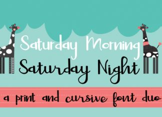 Saturday Duo Font