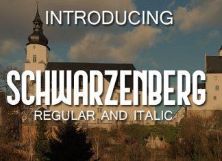 Schwarzenberg Font