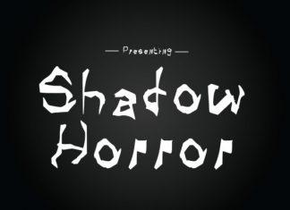 Shadow Horror Font