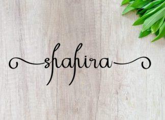 Shahira Font
