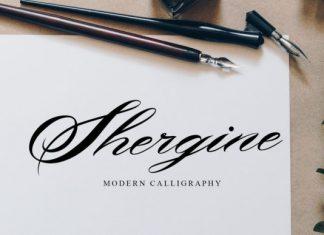 Shergine Font