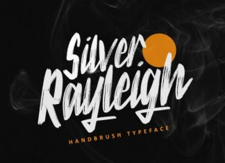Silver Rayleigh Font