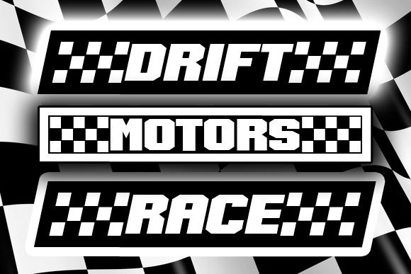 Speed Racing Font