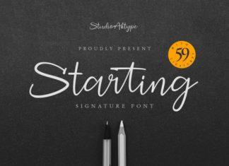 Starting Font