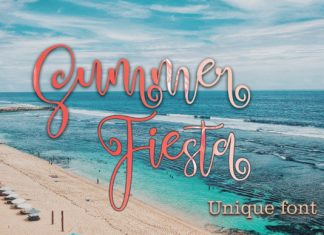 Summer Fiesta Font