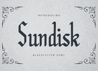 Sundisk Font