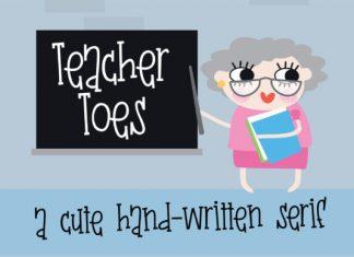 Teacher Toes Font