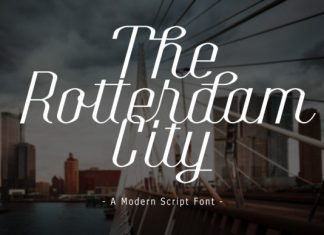 The Rotterdam City Font