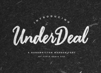 Under Deal Font