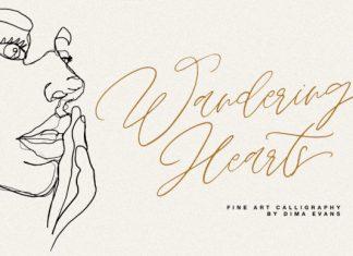 Wandering Hearts Font