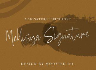 Mellisya Signature Font